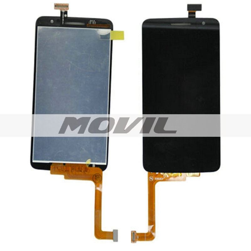 Tested Replacement LCD Display Touch Digitizer Screen Assembly For Alcatel OT8008 OT-8008A 8008W 8008D