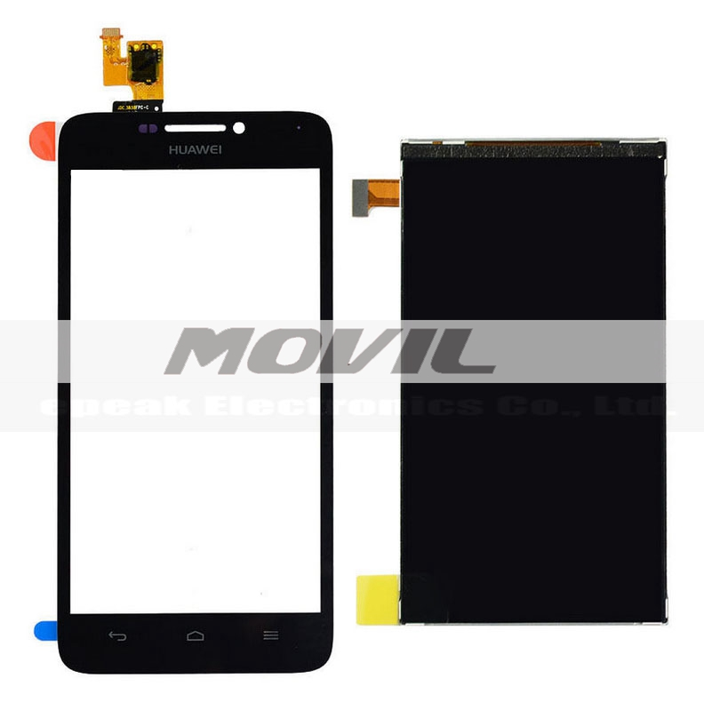Touch Screen Digitizer Glass + LCD Display For Huawei Ascend G630 Repair Part
