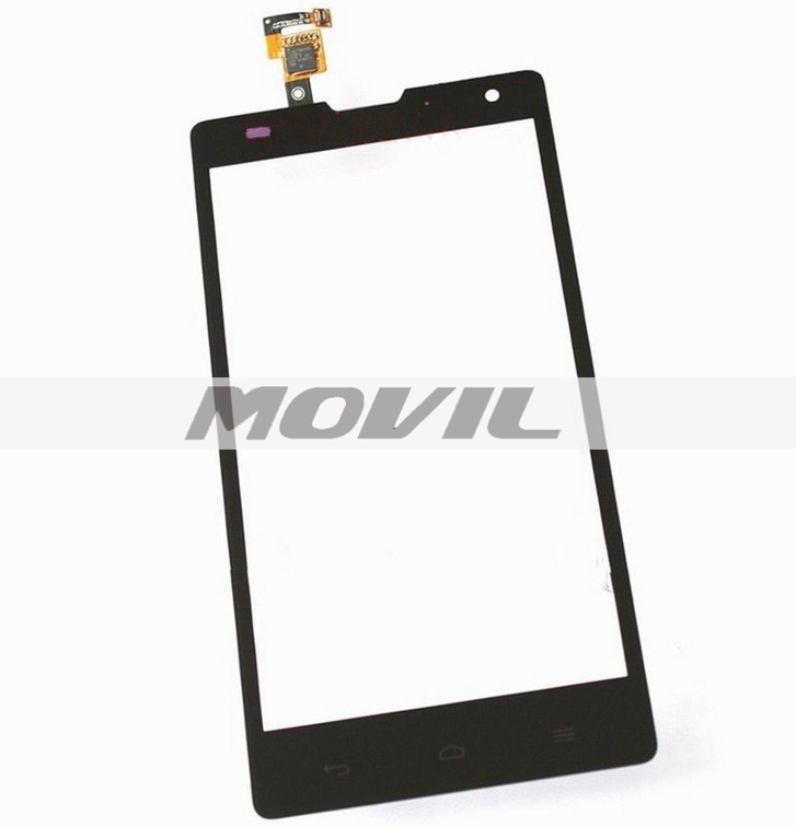 Touch Screen Digitizer Glass Repair Part for Huawei Ascend G740 Orange Yumo