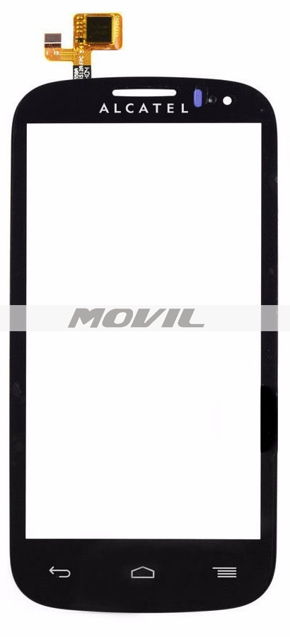 Touch screen for Alcatel Pop C5 Ot 5036a black