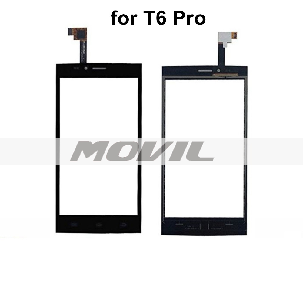 Touch screen for Thl T6 Pro cell phone(Black) without Lcd screen