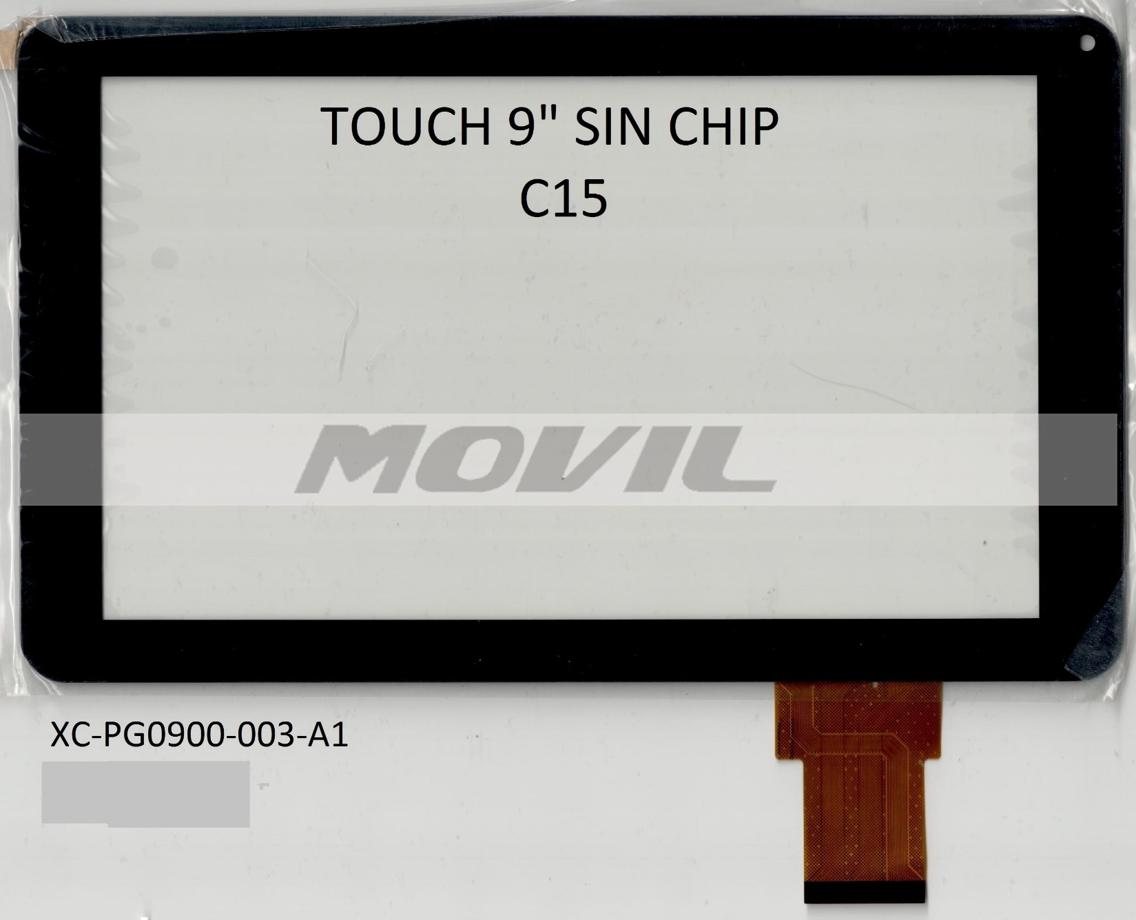 Touch tactil para tablet flex 9 inch SIN CHIP C15 XC-PG0900-003-A1