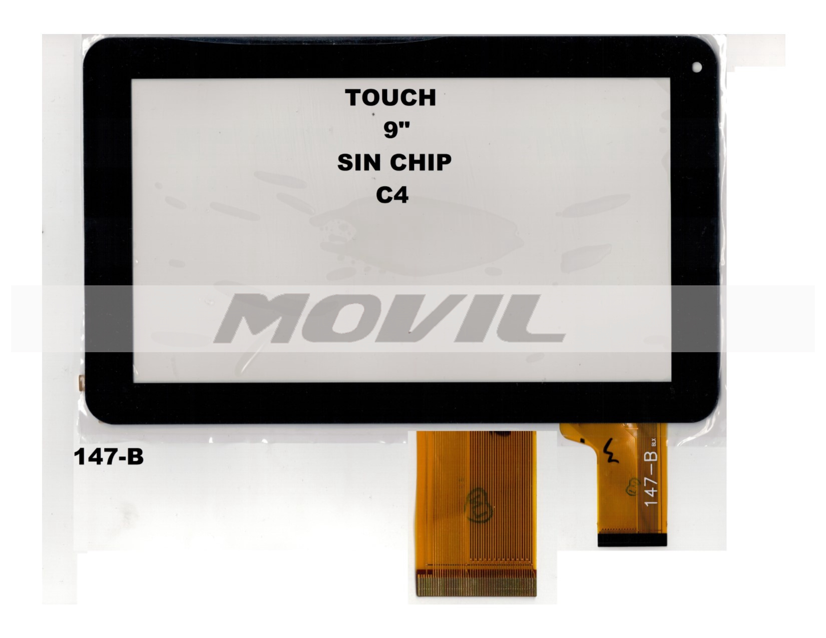 Touch tactil para tablet flex 9 inch SIN CHIP C4 147-B