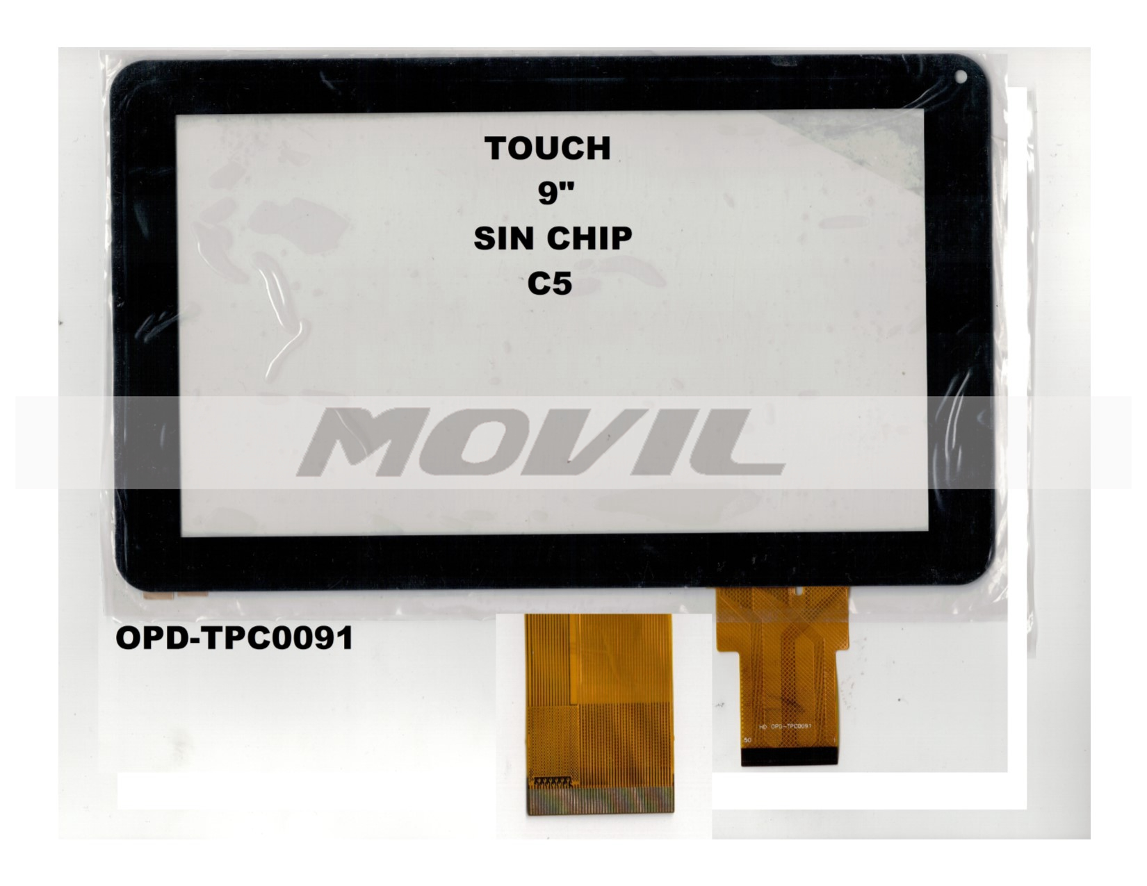 Touch tactil para tablet flex 9 inch SIN CHIP C5 OPD-TPC0091