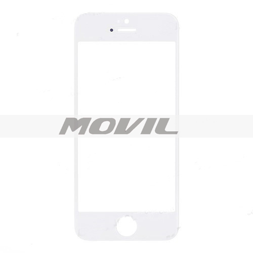 White Color Replacement Front Screen Outer Touch Screen Glass Lens Replacement Part for iPhone 5 5G