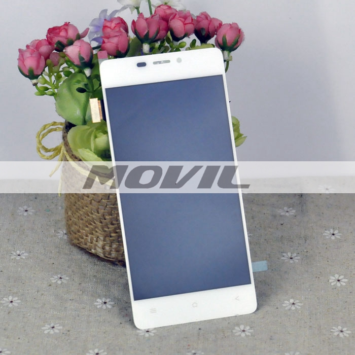 White Color Touch Screen + LCD Display Assembly For Gionee S5.1