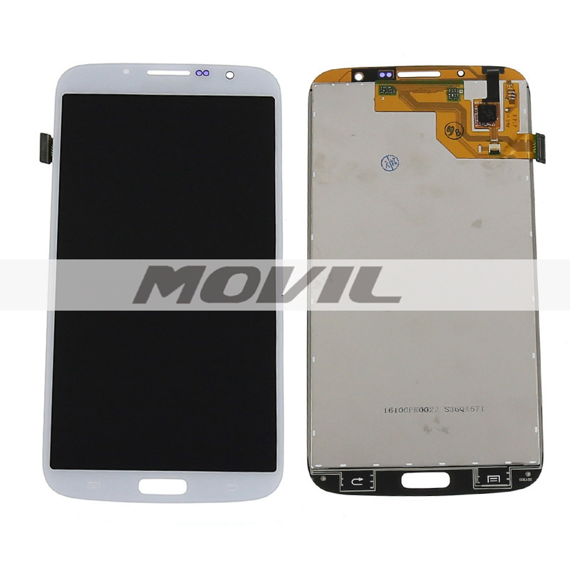 White LCD Display For Samsung Galaxy Mega 6.3 i9200 i9205 Touch Screen with Digitizer