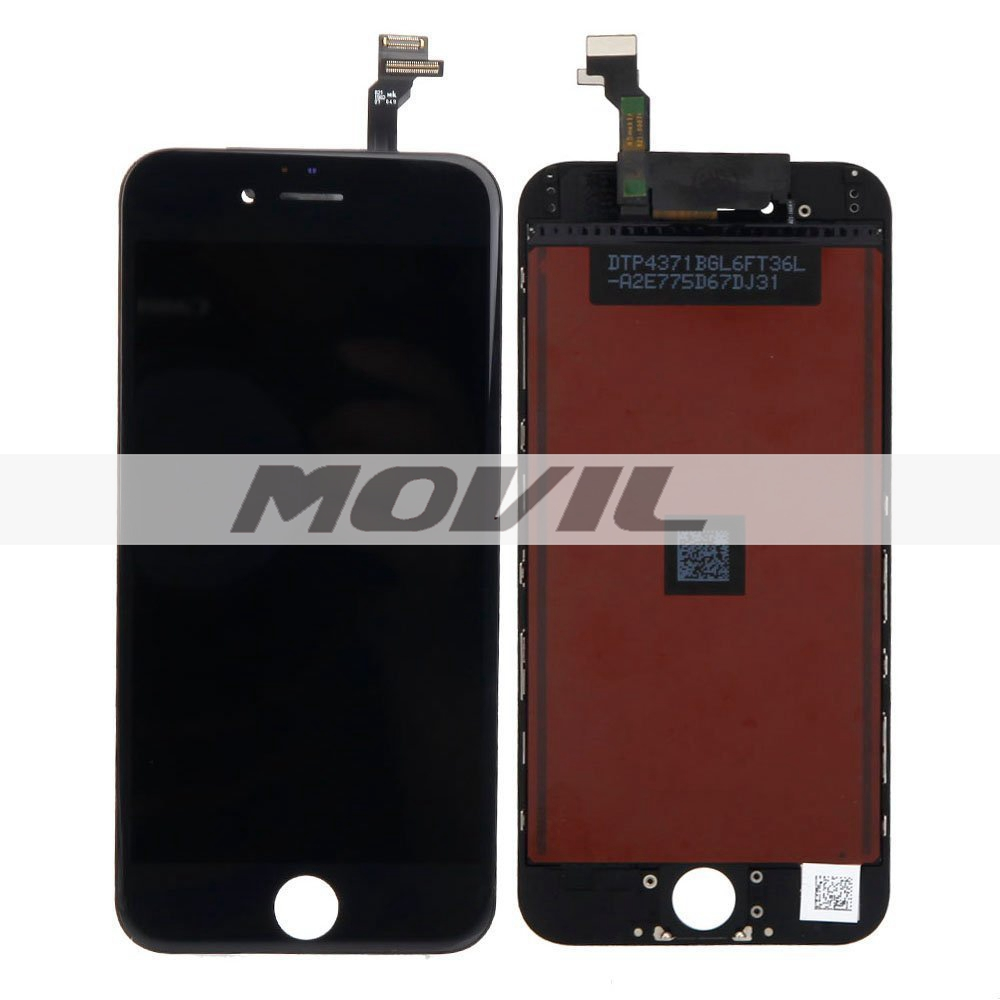 White LCD Display Touch Digitizer Screen Assembly Replacement for iPhone 6 Plus  5.5 black