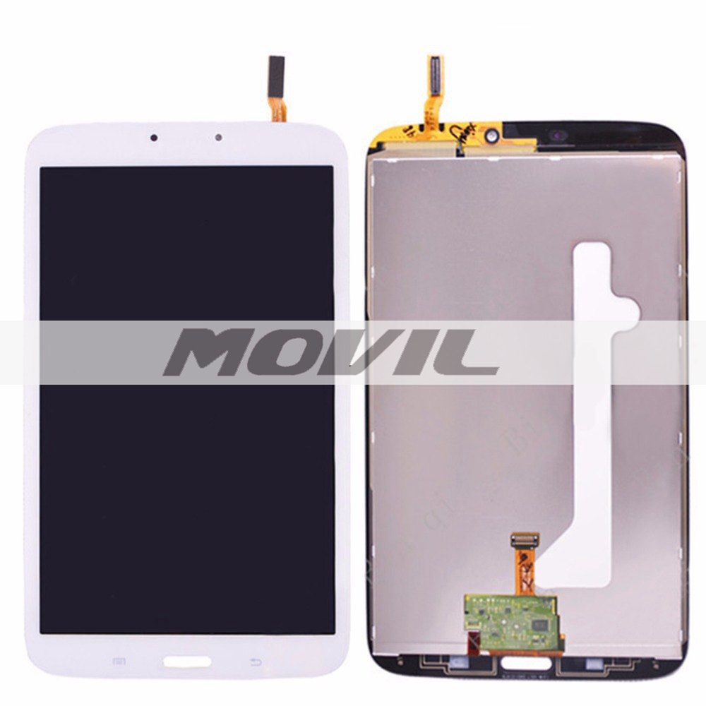 White LCD For Samsung Galaxy tab 3 8.0 T310 LCD touch screen