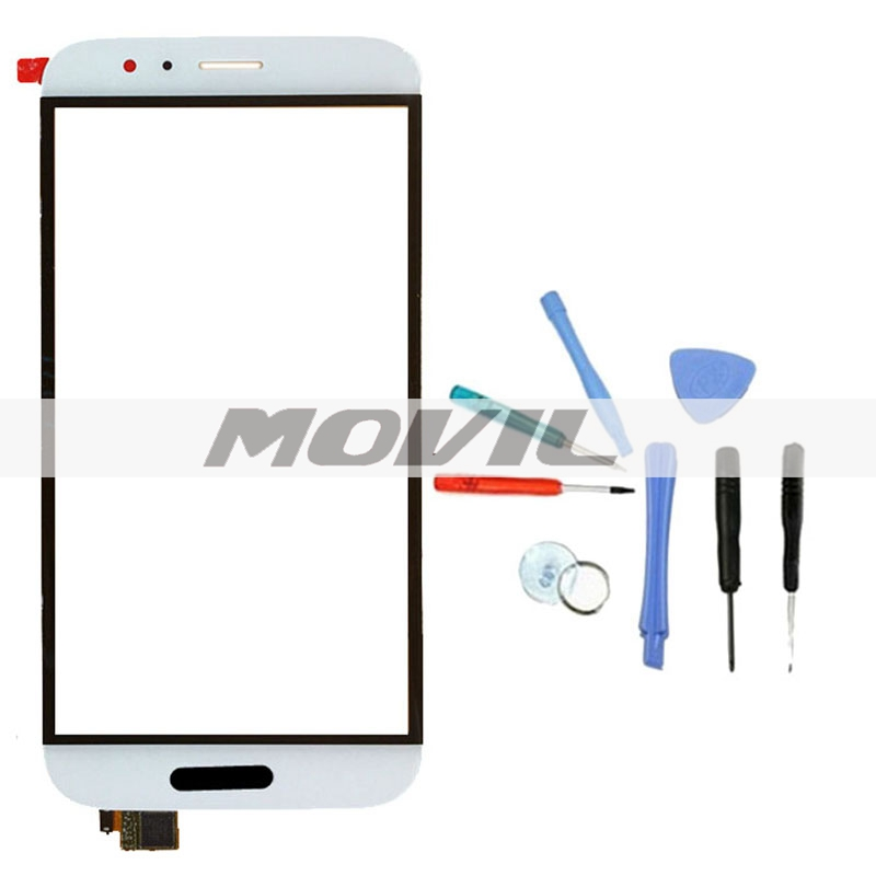 White Screen Replacement Digitizer with Open Tools Touch Screen Outer Glass Panel For Huawei Ascend G8