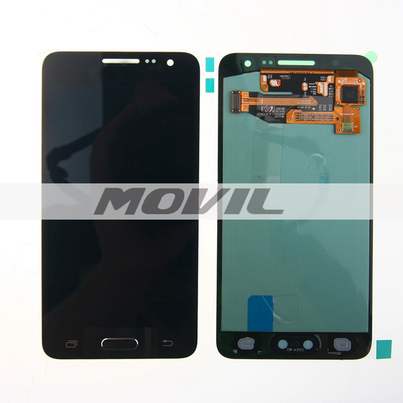 Wholesale Black LCD Screen Display with Digitizer Assembly For Samsung Galaxy A3 A3000 A300X