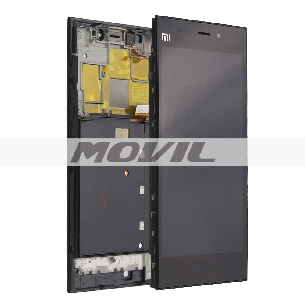 Xiaomi Mi3 Lcd Display Touch Screen Assembly with Frame