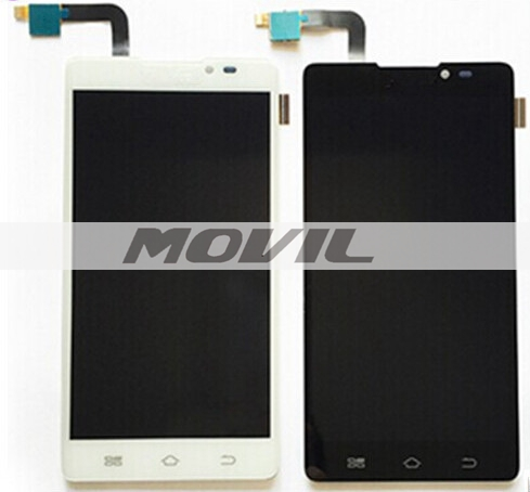 black Lcd display screen +touch screen digitizer panel assembly for Coolpad 5951