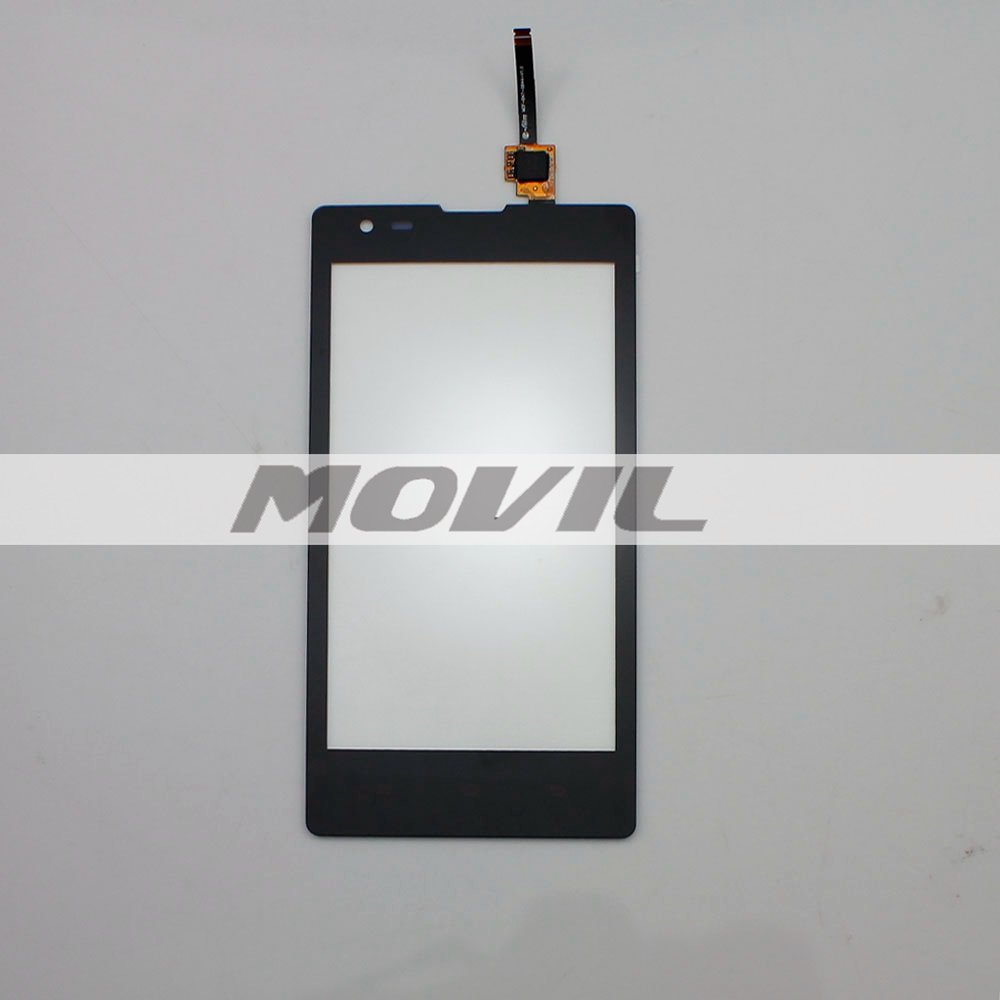 black Replacement Front Screen Protector Outer Touch Screen For Xiaomi redmi1s