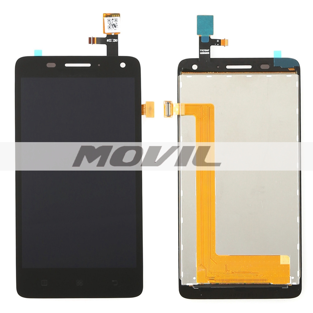 black lcd display touch screen digitizer full assembly replacement parts for Lenovo S660 S668