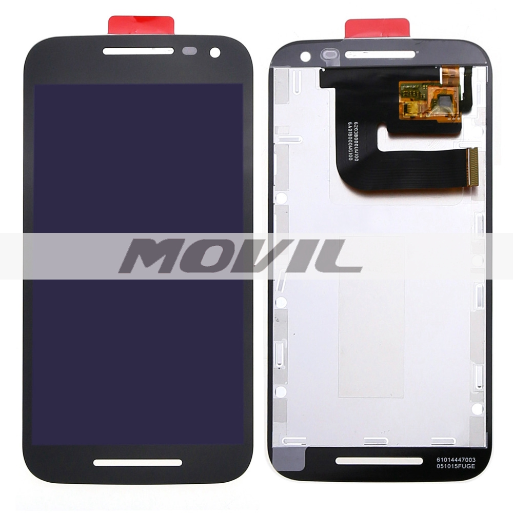 black touch screen digitizer lcd display full assembly repalcement parts for Motorola MOTO G3 G 3rd Gen