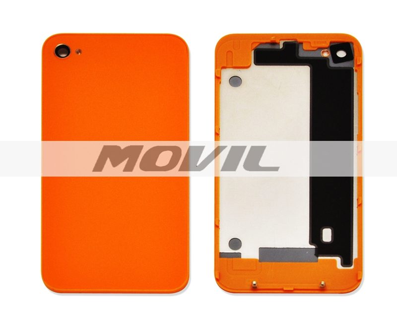 color optional Best OEM quality for iPhone 4G back housing cover rear cover replacement with logo