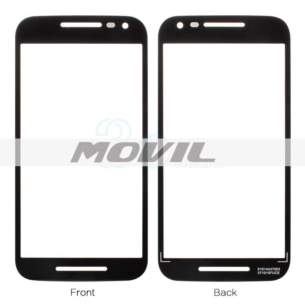 for Motorola Moto G 2015  G 3rd Gen  G3 Front Outer Glass Touch Screen Lens Cover Replacement