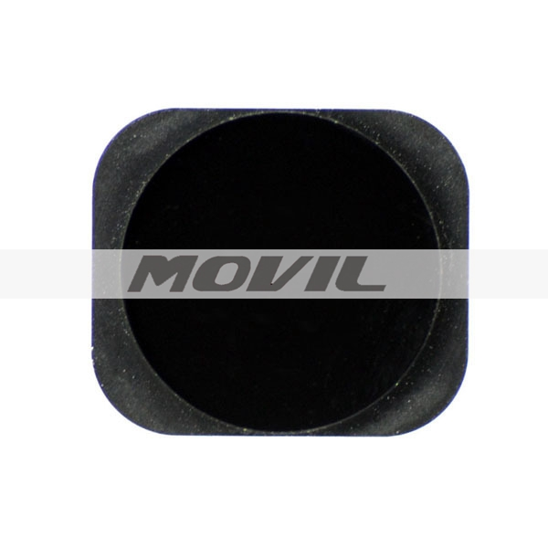 home button for apple iphone 5 5G replace blackwhite home button with rubber