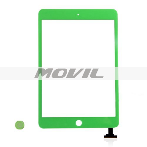 iPad Mini Digitizer Touch Screen with Home Button -Green