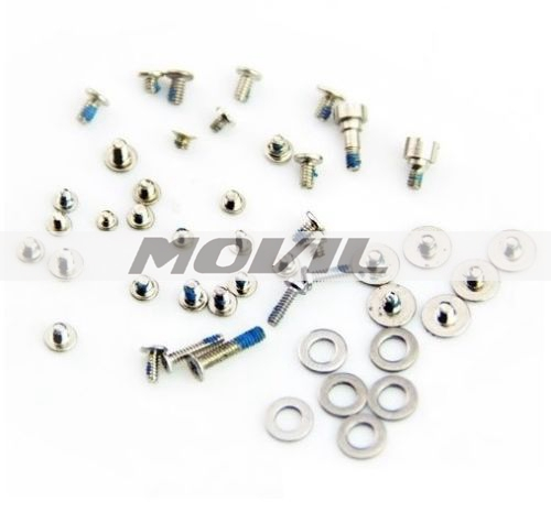 iPhone 4S New Complete Full Screw Washer Part Set Replacement