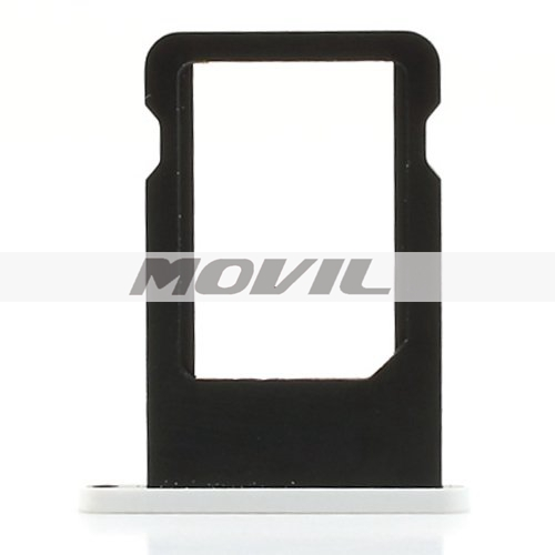 iPhone 5c SIM Card Tray Holder Repair Part (OEM) +Smays Cloth (White)