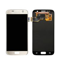 LCD Screen For Samsung S7 Gold