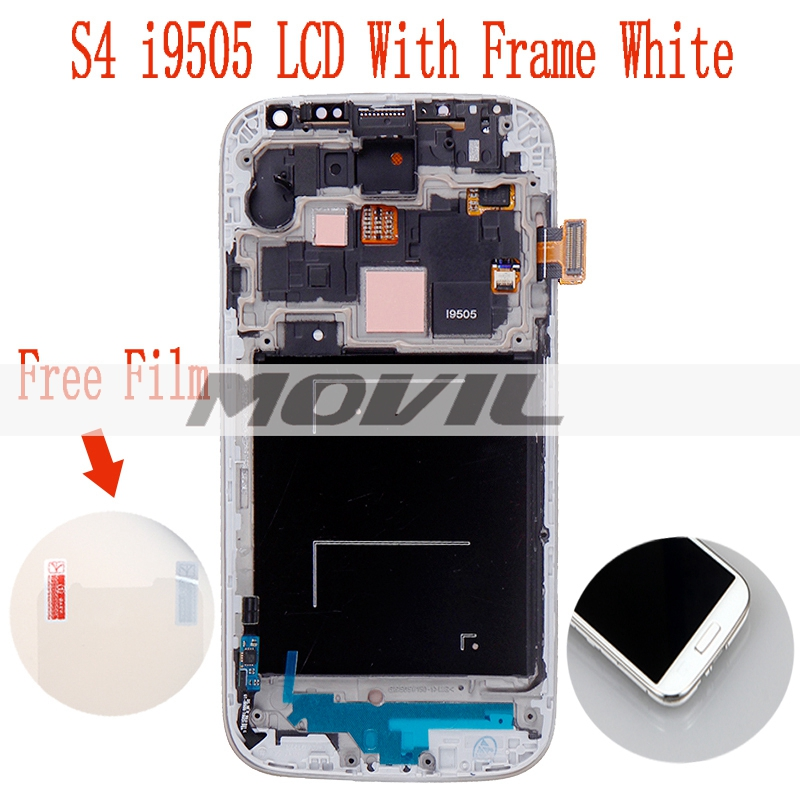 original LCD For Samsung Galaxy S4 i9505 With Touch screen + Frame