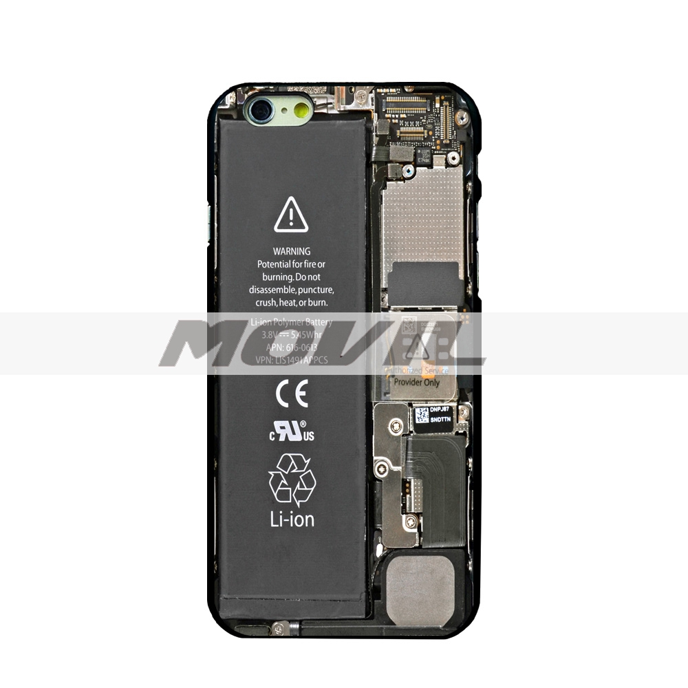phone case the latest Chip Internal Board flag black hard cover protective shell for iPhone 44s5c55s66s6plus6splus case