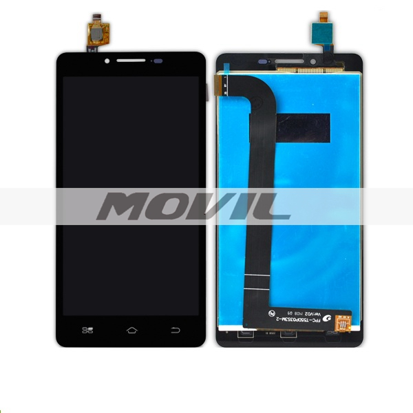 replacement assembly LCD display and touch screen white For coolpad 8729
