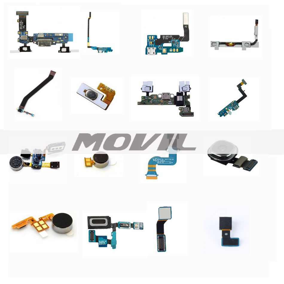 original  self-welded with microphoe dow keypad   Flex cable for Samsung I627