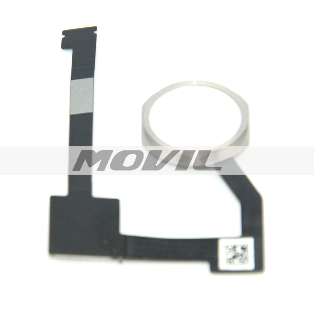 white Home Button Assembly For ipad air 2 iPad 6 Home Button Flex Cable Replacement Parts